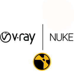 картинка V-Ray 3.0 Workstation for Nuke Short Term Rental (1 месяц), коммерческий, английский, лицензии с 1 по 4 (цена за лицензию) от компании CAD.kz